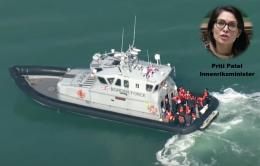 Britiske grensestyrker får utvidet voldsmakt mot migranter i Kanalen