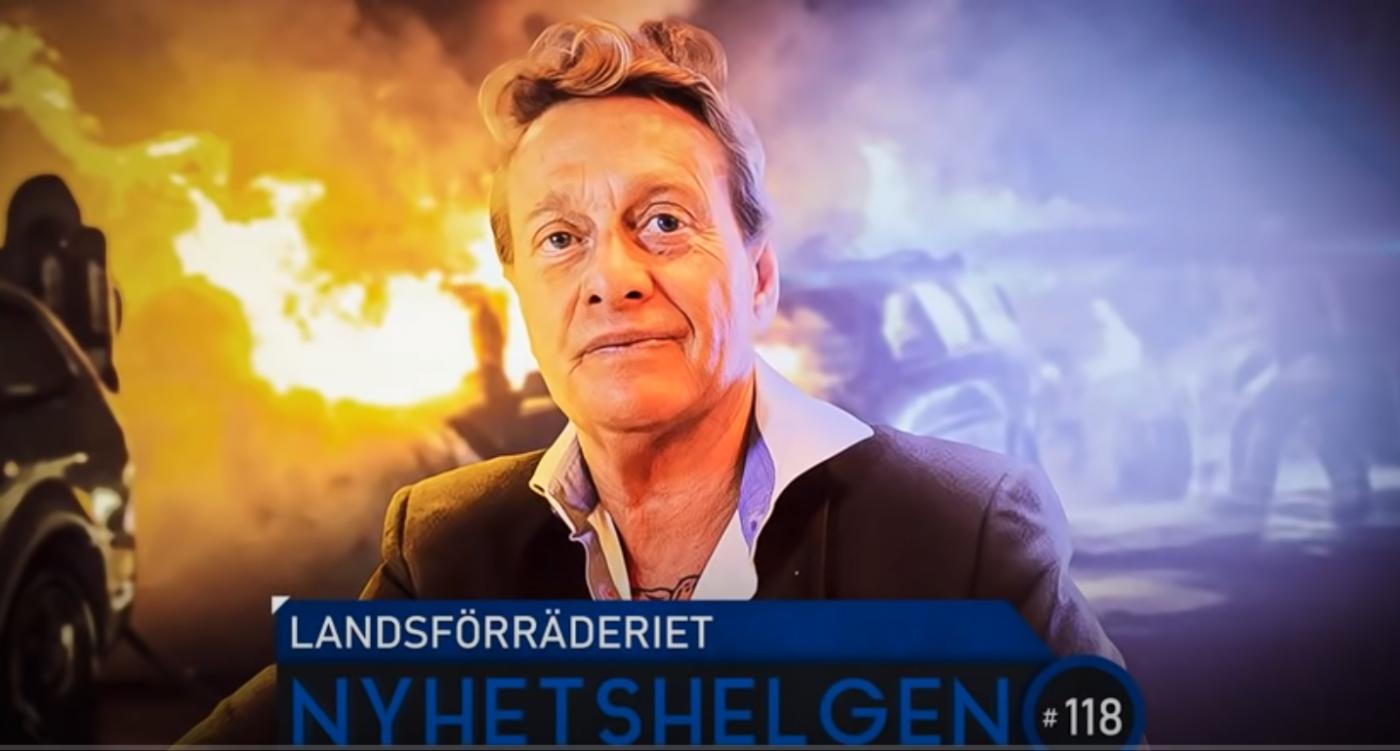 «Landsforrædere.» Sverige koker etter politidrapet